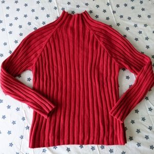 Vintage Herman Geist mock turtleneck sweater ~EUC~